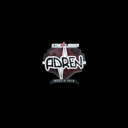 Sticker | AdreN (Foil) | Berlin 2019