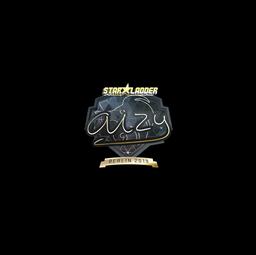 Sticker | aizy (Gold) | Berlin 2019