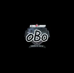 Sticker | oBo (Foil) | Berlin 2019