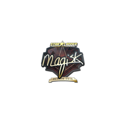 Sticker | Magisk (Gold) | Berlin 2019