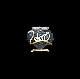 Sticker | Lekr0 (Gold) | Berlin 2019