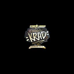 Sticker | Krad (Gold) | Berlin 2019