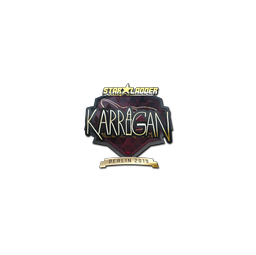 Sticker | karrigan (Gold) | Berlin 2019