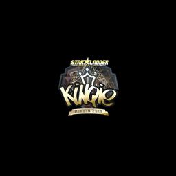 Sticker   kinqie (Gold)   Berlin 2019