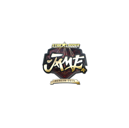 Sticker | Jame (Gold) | Berlin 2019
