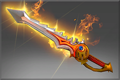 Genuine Rapier of the Burning God