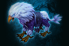 Genuine Nightsilver Gryphon