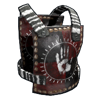 Tribe Warrior Armor Rust Skin