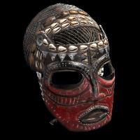 Tribe Warrior Mask Rust Skin