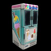 Ice Cream Freezer Rust Skin