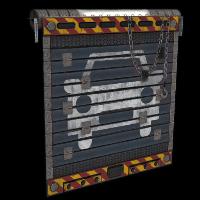 Rust Mechanic Garage Door Skins
