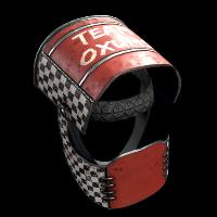 Oxums Racing Team Helmet Rust Skin