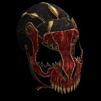 Raptor Facemask Rust Skin