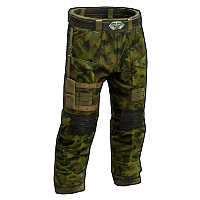 Elite Forest Camo Pants Rust Skin