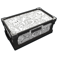 Doodle Large Wooden Box