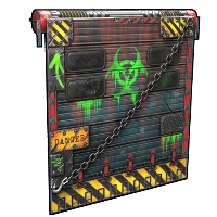 Toxic Garage Door Rust Skin
