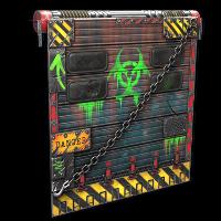 Toxic Garage Door