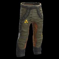 Poison Pants Rust Skin