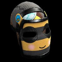 Bee Cosplay Facemask Rust Skin