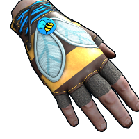 Rust Bee Cosplay Gloves Skins