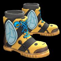 Bee Cosplay Boots Rust Skin