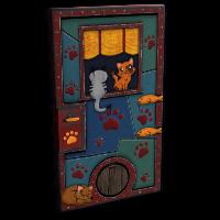 MeowMeow Sheet Metal Door