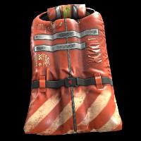 Lifejacket Sleeping Bag Rust Skin