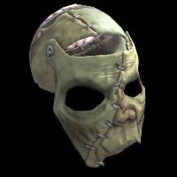 Franken-Facemask Rust Skin