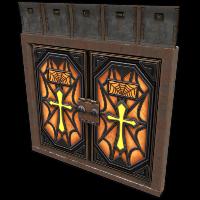 Crypt Armored Double Door Rust Skin