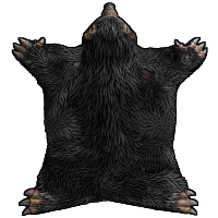 Rust Werewolf Rug Skins