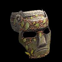 Forsaken Era Mask Rust Skin
