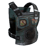 RaidBot Chest Plate Rust Skin