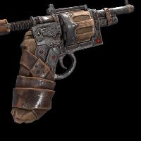 Gothic Revolver Rust Skin