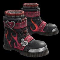 Road Romeo Boots Rust Skin