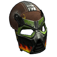 Bombshell Facemask Rust Skin