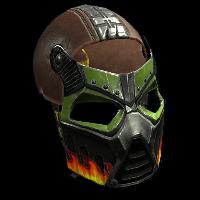 Bombshell Facemask