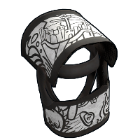 Doodle Helmet Rust Skin
