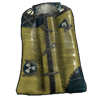Salvaged Hazmat Bag Rust Skin