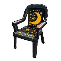 Night Sky Chair Rust Skin