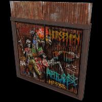 Horsemen of the Apocalypse Door Rust Skin