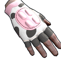 Rust Cow Moo Flage Gloves Skins