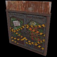 Eviction Double Door Rust Skin