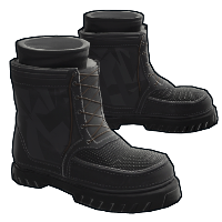 Blackout Boots Rust Skin