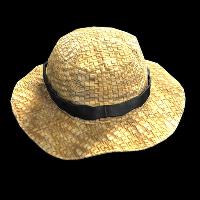 Farmer Straw Hat Rust Skin