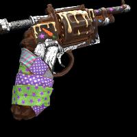 Choco-Revolver Rust Skin