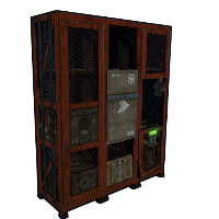Cargo Heli Locker Rust Skin