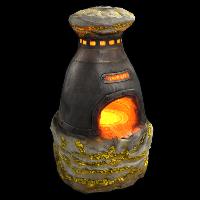 Sulfur Furnace Rust Skin
