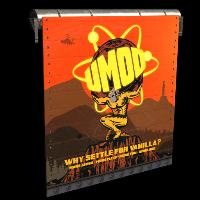 uMod Fundraiser Garage Door Rust Skin