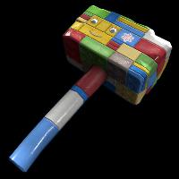 Building Block Hammer Rust Skin