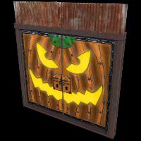Jack Sheet Metal Double Door Rust Skin